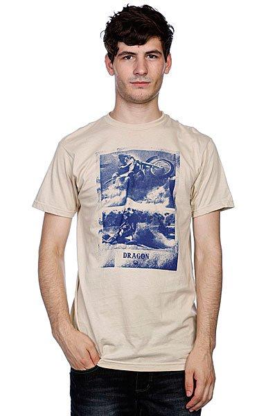 Футболка Dragon Ghost Riders Pf S11 Ss Sand<br><br>Цвет: бежевый<br>Тип: Футболка<br>Возраст: Взрослый<br>Пол: Мужской