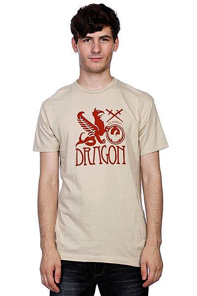 Футболка Dragon Banner Sand<br><br>Цвет: бежевый<br>Тип: Футболка<br>Возраст: Взрослый<br>Пол: Мужской