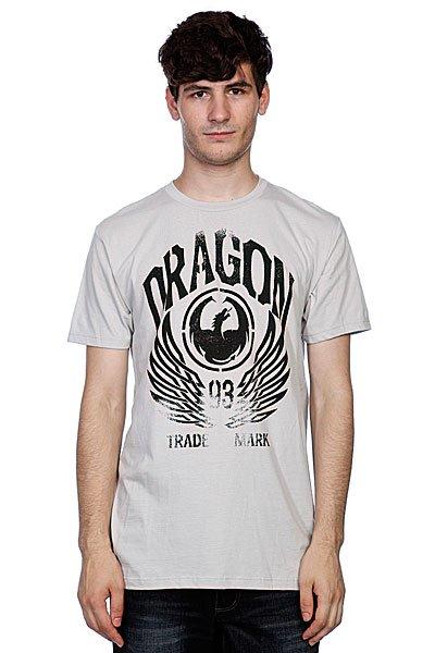 Футболка Dragon Iconic Work Silver Grey<br><br>Цвет: серый<br>Тип: Футболка<br>Возраст: Взрослый<br>Пол: Мужской