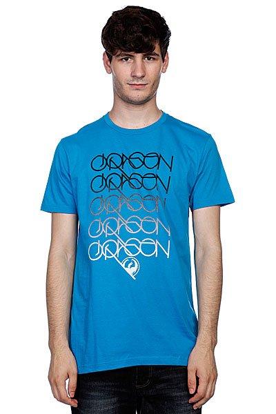 Футболка Dragon Logans Run Sf Tee F10 Turquoise<br><br>Цвет: синий<br>Тип: Футболка<br>Возраст: Взрослый<br>Пол: Мужской