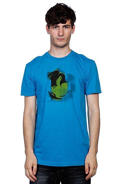 Футболка Dragon Exposed Deep Turquoise<br><br>Цвет: голубой<br>Тип: Футболка<br>Возраст: Взрослый<br>Пол: Мужской