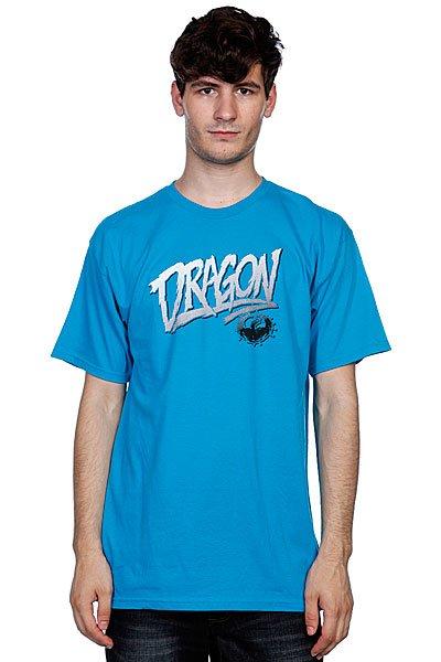 Футболка Dragon Claim It Tee F10 Turquoise<br><br>Цвет: голубой<br>Тип: Футболка<br>Возраст: Взрослый<br>Пол: Мужской