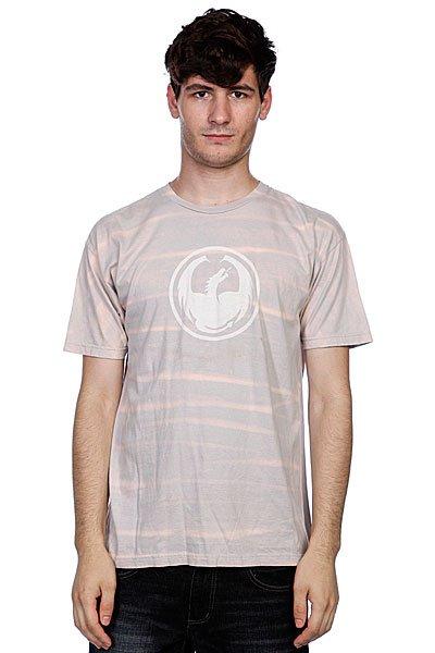 Футболка Dragon Acid Bath Icon Df S11 Ss Pewter<br><br>Цвет: серый,бежевый<br>Тип: Футболка<br>Возраст: Взрослый<br>Пол: Мужской