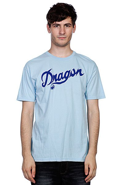 Футболка Dragon Script Df S11 Ssight Blue<br><br>Цвет: голубой<br>Тип: Футболка<br>Возраст: Взрослый<br>Пол: Мужской