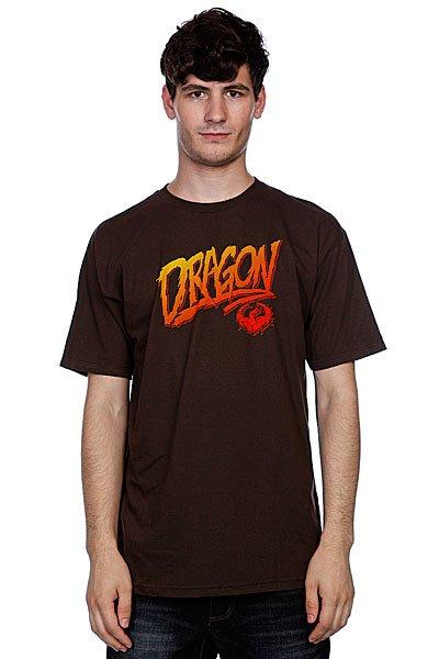 Футболка Dragon Claim It Tee F10 Brown<br><br>Цвет: коричневый<br>Тип: Футболка<br>Возраст: Взрослый<br>Пол: Мужской