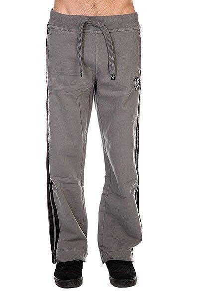 Штаны прямые A-One Full Custom Grey/Black