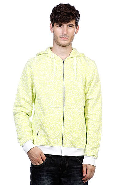 Толстовка Globe Stipples Zip Hood White толстовка stussy 4134943 world tour zip hood