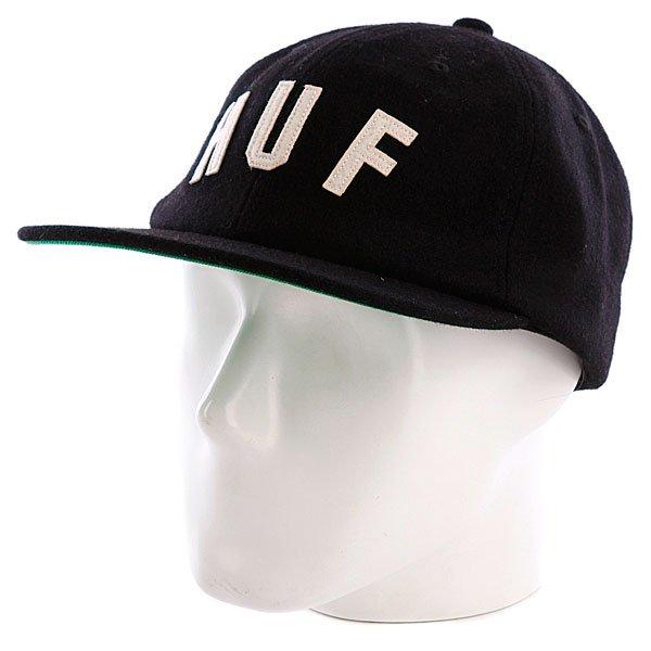 Бейсболка Huf Huf Shortstop Black<br><br>Цвет: черный<br>Тип: Бейсболка с прямым козырьком<br>Возраст: Взрослый<br>Пол: Мужской