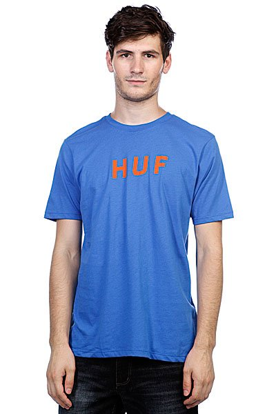 цены Футболка Huf Original Logo Tee Royal