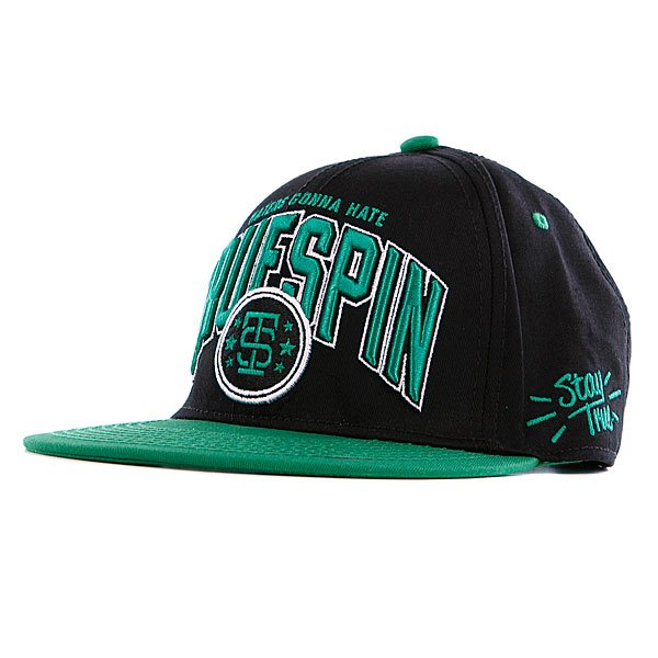 Бейсболка True Spin True Spin-2 Black/Green