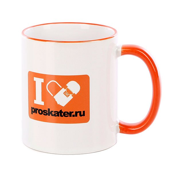 Кружка Proskater.ru - Подарок<br><br>Цвет: белый<br>Тип: Кружки