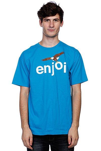 Футболка Enjoi Birds Of Prey Turquoise<br><br>Цвет: голубой<br>Тип: Футболка<br>Возраст: Взрослый<br>Пол: Мужской