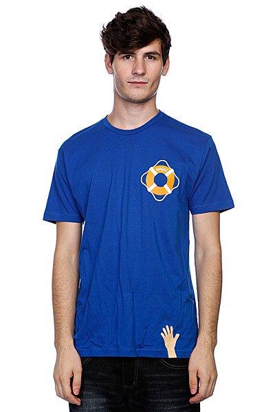 Футболка Enjoi Lifesaver Premium Royal<br><br>Цвет: синий<br>Тип: Футболка<br>Возраст: Взрослый<br>Пол: Мужской