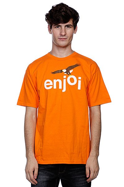 Футболка Enjoi Birds Of Prey Orange футболка enjoi outlines purple
