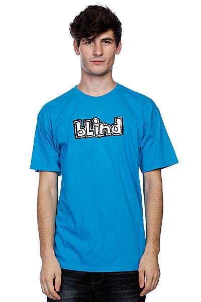 Футболка Blind Fluorescent Og Logo Turquoise<br><br>Цвет: голубой<br>Тип: Футболка<br>Возраст: Взрослый<br>Пол: Мужской