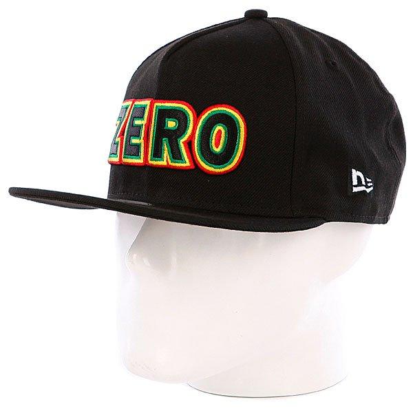 Бейсболка New Era Zero Rasta Bold New Era Black<br><br>Цвет: черный<br>Тип: Бейсболка с прямым козырьком<br>Возраст: Взрослый<br>Пол: Мужской