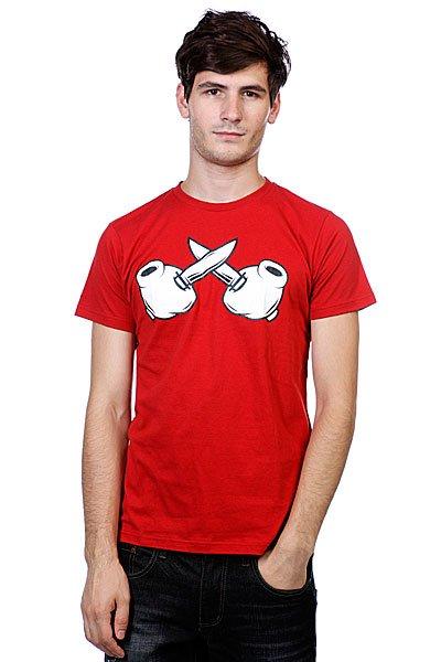 Футболка True Spin Criminal Mind Knives Red<br><br>Цвет: красный<br>Тип: Футболка<br>Возраст: Взрослый<br>Пол: Мужской