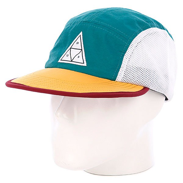 Бейсболка пятипанелька Huf Scout Volley Teal masters scout