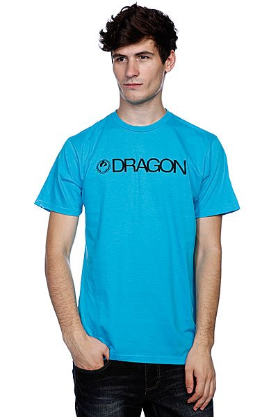 Футболка Dragon Trademark Deep Turquoise