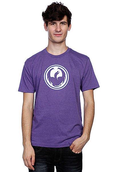 Футболка Dragon Icon Purple Haze Heather<br><br>Цвет: фиолетовый<br>Тип: Футболка<br>Возраст: Взрослый<br>Пол: Мужской