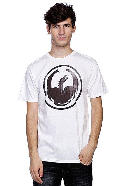 Футболка Dragon Watermark White от Proskater