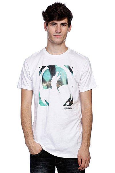 Футболка Dragon Aurora F12 White<br><br>Цвет: белый<br>Тип: Футболка<br>Возраст: Взрослый<br>Пол: Мужской