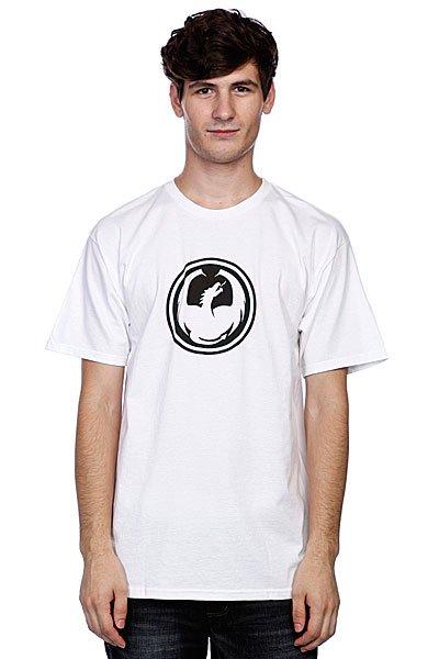 Футболка Dragon Icon T(Hs) White<br><br>Цвет: белый<br>Тип: Футболка<br>Возраст: Взрослый<br>Пол: Мужской