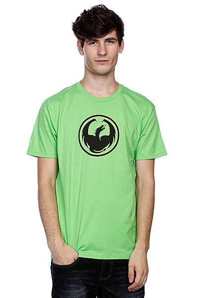 Футболка Dragon Icon S/F T(Hs) Lime<br><br>Цвет: зеленый<br>Тип: Футболка<br>Возраст: Взрослый<br>Пол: Мужской