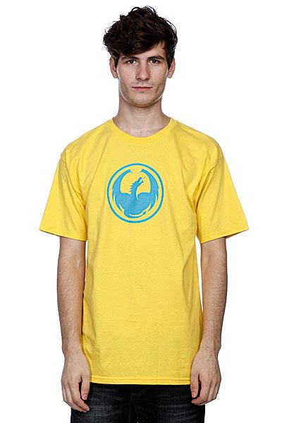 Футболка Dragon Icon T(Hs) Yellow<br><br>Цвет: желтый<br>Тип: Футболка<br>Возраст: Взрослый<br>Пол: Мужской