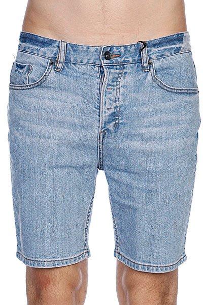 Джинсовые мужские шорты Globe Soulsuckin Walkshort Battered Wash<br><br>Цвет: голубой<br>Тип: Шорты джинсовые<br>Возраст: Взрослый<br>Пол: Мужской