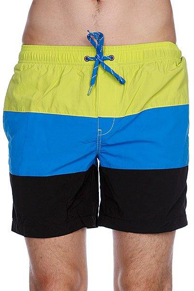 Пляжные мужские шорты Globe Dana Split Pool Short Lime<br><br>Цвет: черный,синий,желтый<br>Тип: Шорты пляжные<br>Возраст: Взрослый<br>Пол: Мужской