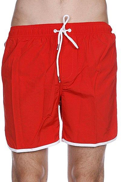 Пляжные мужские шорты Globe Dana Retro Pool Short Red Clay<br><br>Цвет: красный<br>Тип: Шорты пляжные<br>Возраст: Взрослый<br>Пол: Мужской