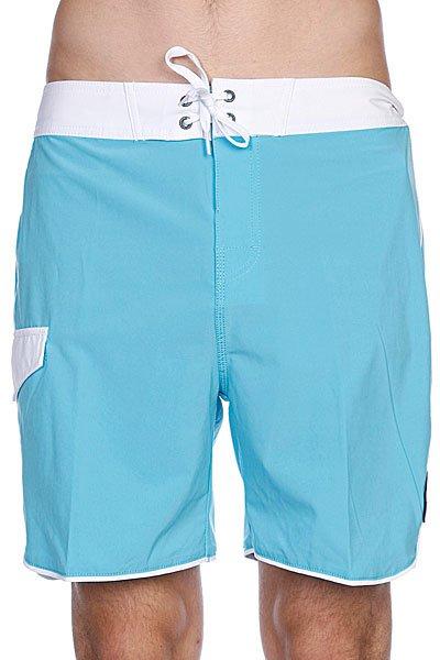 Пляжные мужские шорты Globe Super Boardie Sea Blue<br><br>Цвет: голубой<br>Тип: Шорты пляжные<br>Возраст: Взрослый<br>Пол: Мужской