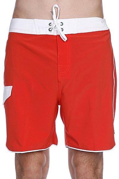 Пляжные мужские шорты Globe Super Boardie Red Clay<br><br>Цвет: красный<br>Тип: Шорты пляжные<br>Возраст: Взрослый<br>Пол: Мужской