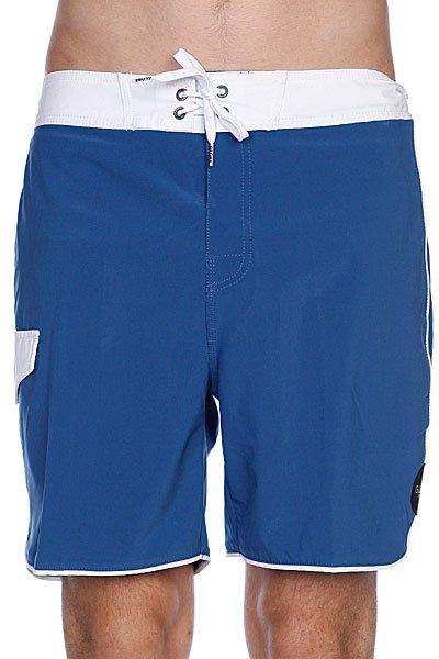 Пляжные мужские шорты Globe Super Boardie Washed Blue<br><br>Цвет: синий<br>Тип: Шорты пляжные<br>Возраст: Взрослый<br>Пол: Мужской