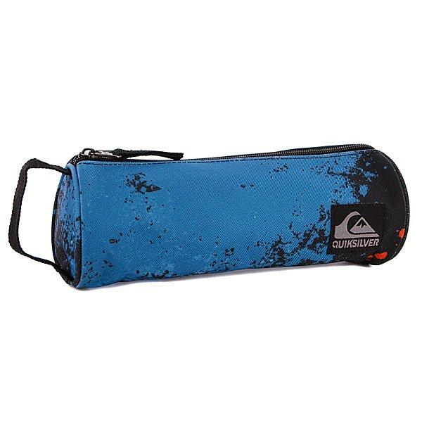 Пенал Quiksilver Pencil B Blast Master X6 Neon Blue - ПодарокВместительный пенал поможет сохранить все ваши принадлежности в полном пордке.Характеристики:Верх из полистера. Основное отделение на молнии. Тонка ручка.<br><br>Цвет: черный,синий<br>Тип: Пенал