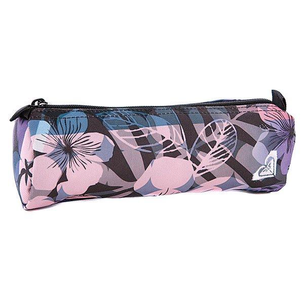 Пенал женский Roxy Off The Wall Flower X3 Phm Ax Nolhawai - ПодарокВместительный пенал поможет сохранить все ваши принадлежности в полном порядке.Характеристики:Верх из полиэстера. Основное отделение на молнии.<br><br>Цвет: розовый,голубой<br>Тип: Пенал