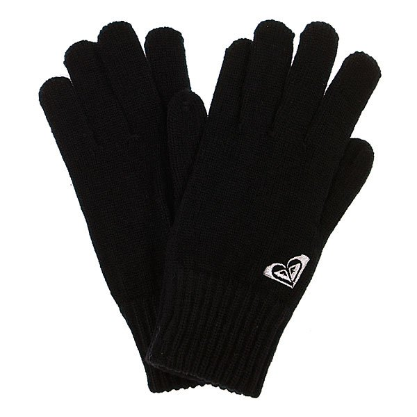 Перчатки женские Roxy Mellow Gloves True Black/White Proskater.ru 990.000