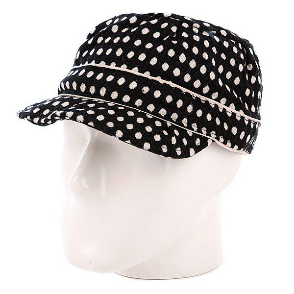 Бейсболка женская Animal Merry Merry White/Black<br><br>Цвет: белый,черный<br>Тип: Бейсболка классическая<br>Возраст: Взрослый<br>Пол: Женский
