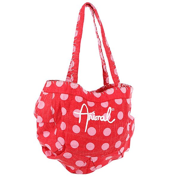 фото Сумка женская Animal Breakingcurl Tote Pink/Red