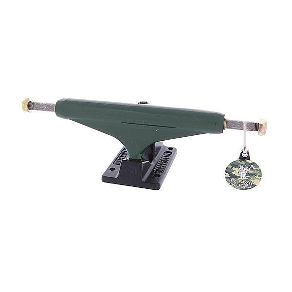 Подвеска для скейтборда 1шт. Independent X Nasvay Green Black St11 149mm 8.5 (21.6 см)Цена указана за одну подвеску. Минимальный заказ 2 шт.Ширина подвески : 8.5 (21.6 см)<br><br>Тип: Подвеска для скейтборда
