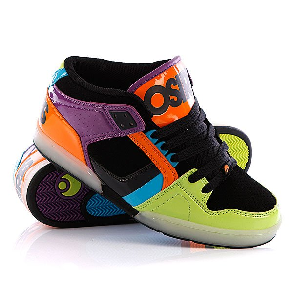 ���� ��������� ������� Osiris Nyc 83 Mid Lme/Orange/Blue