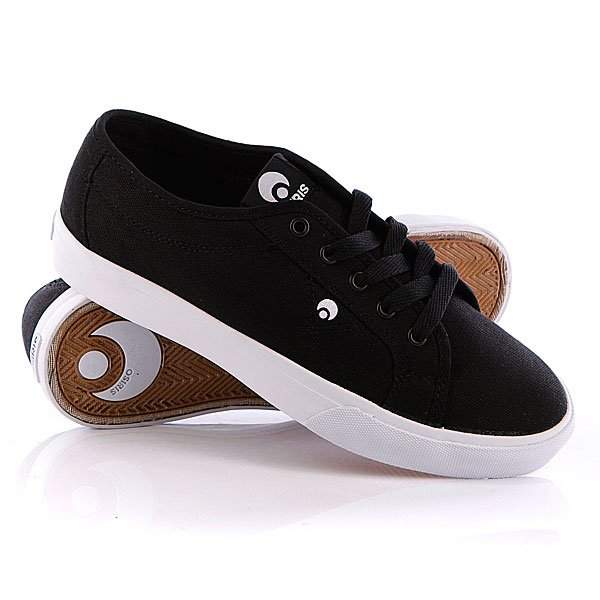 Кеды кроссовки низкие Osiris Mith Black/Black/White футболка brubeck wool merino l black ls10510 ls11920 мужская