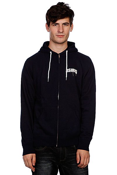 Толстовка Osiris Zip Hood Monkey Navy
