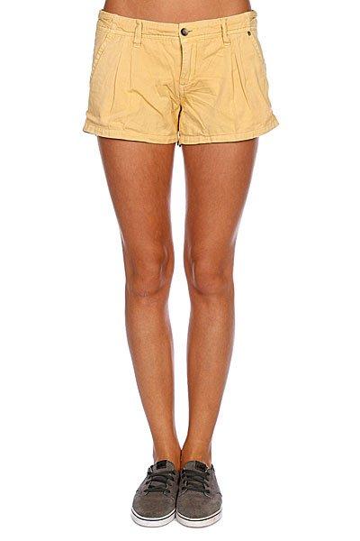Шорты классические женские Rip Curl Rhonda Misted Yellow<br><br>Цвет: бежевый<br>Тип: Шорты классические<br>Возраст: Взрослый<br>Пол: Женский