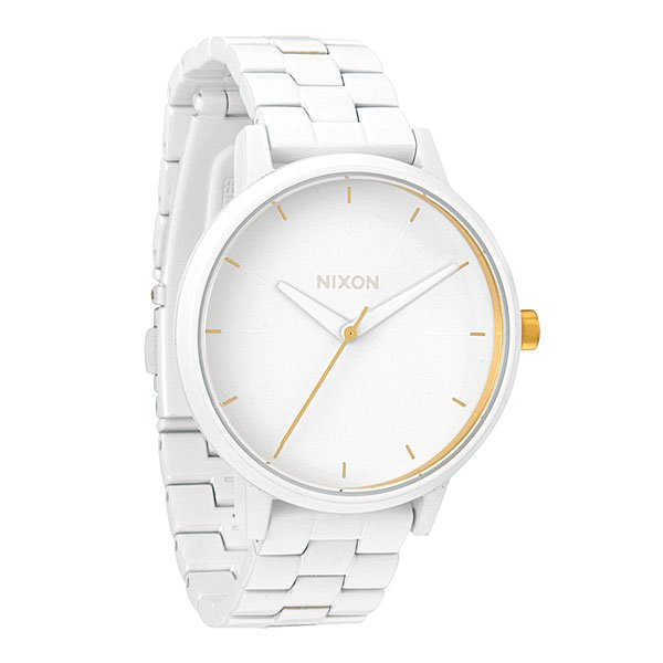 Часы женские Nixon Kensington All White/Gold часы женские nixon kensington all white gold o s