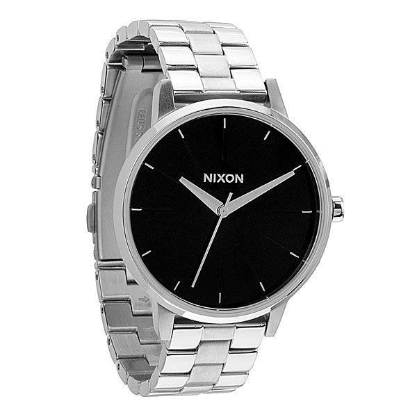 Часы женские Nixon Kensington Black часы nixon corporal ss matte black industrial green