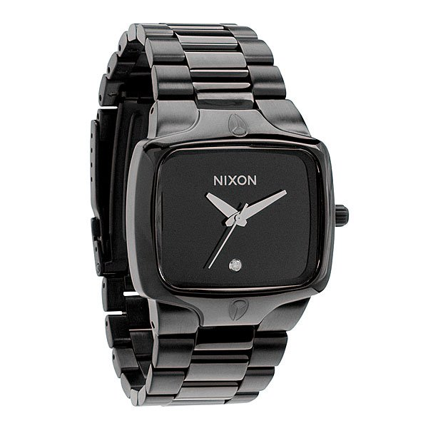 Часы Nixon Player All Black часы nixon re run leather all black