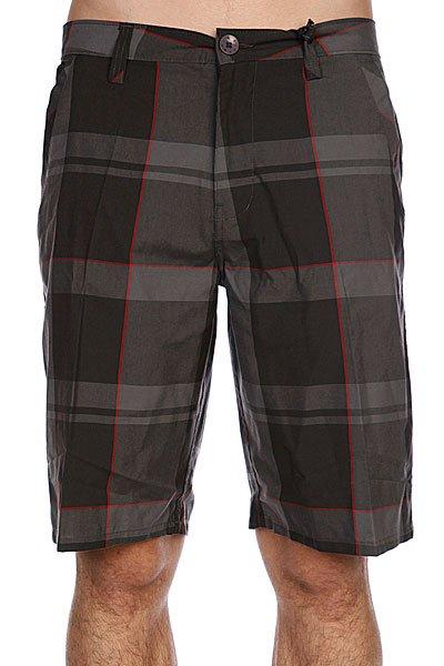 Классические мужские шорты Rip Curl Madness Walkshort Charcoal<br><br>Цвет: черный,серый<br>Тип: Шорты<br>Возраст: Взрослый<br>Пол: Мужской