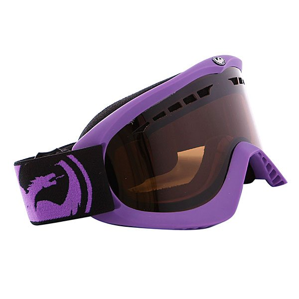 ����� Dragon DX Frame Pop Purple Lens Jet + Amber